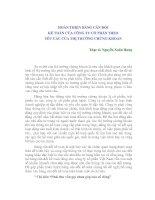 Tài liệu HOÀN THIỆN BẢNG CÂN ĐỐI KẾ TOÁN CỦA CÔNG TY CỔ PHẦN THEO YÊU CẦU CỦA THỊ TRƯỜNG CHỨNG KHOÁN pptx