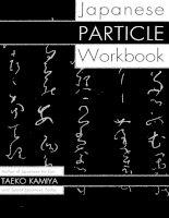Japanese particle workbook 01 -N4 & N5