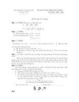 Tài liệu Đề Thi Thử Tuyển Sinh Lớp 10 Toán 2013 - Đề 59 ppt