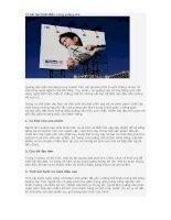 Tài liệu 10 bài học kinh điển trong quảng cáo ppt