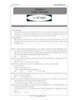 Bài tập tổ hợp xác suất - Trần Sỹ Tùng
