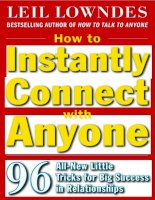Tài liệu How to instantly connect with anyone docx