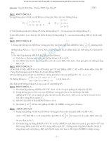 hệ thống bài tập hình học ôn thi đại học