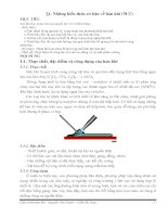 Tài liệu Những kiến thức cơ bản về hàn khí (9LT) pdf