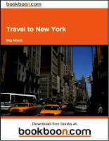 Tài liệu Travel to New York pdf