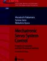 Tài liệu Lecture Notes in Control and Information SciencesEditors: M. Thoma pdf