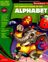 The complete book of the alphabet