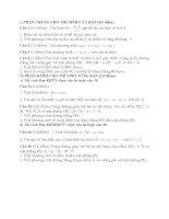 Tài liệu Đề Thi Thử Tốt Nghiệp Toán 2013 - Phần 2 - Đề 21 doc