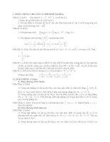 Tài liệu Đề Thi Thử Đại Học Khối A, A1, B, D Toán 2013 - Phần 27 - Đề 15 pdf