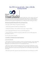 Tài liệu Tự học WPF 4 ppt