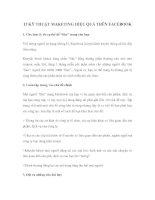 Tài liệu 13 KỸ THUẬT MAKETING HIỆU QUẢ TRÊN FACEBOOK ppt