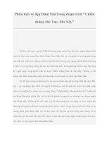 """Tài liệu Phân tích vẻ đẹp Đăm Săn trong đoạn trích """"Chiến thắng Mơ Tao, Mơ Xây"""" pot"""