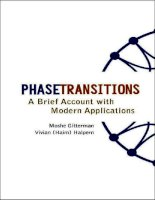 Tài liệu PHASETRAMSITIOMS A Brief Account with Modern Applications doc