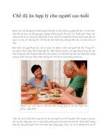 Tài liệu Chế độ ăn hợp lý cho người cao tuổi pdf