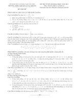 Tài liệu Đề Thi Thử Đại Học Khối A Toán 2013 Trường Chuyên Lý Tự Trọng Cần Thơ - Lần 1 ppt