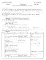 Giáo án Giải tích 12 nâng cao chương 2+3
