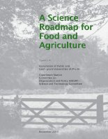 Tài liệu A Science Roadmap for Food and Agriculture pdf