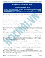luyện thi đh kit 1 (đặng việt hùng) - mạch điện xoay chiều rlc - p2 (bài tập tự luyện)