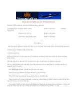 Tài liệu Những lưu ý về hành lý khi đi máy bay pot