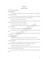 Tài liệu Chương 4: Hệ nhiệt động học - Môn Vật lý đại cương doc