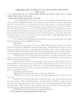 Tài liệu CHƯƠNG 2: ĐỊA VỊ PHÁP LÝ CỦA NGÂN HÀNG NHÀ NƯỚC VIỆT NAM docx