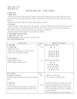 Tài liệu Giáo án thể dụng lớp 12 tuần 4 học kỳ 2 pptx