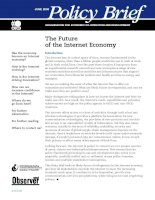 Tài liệu The Future of the Internet Economy docx