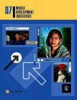 Tài liệu 07 world development indicators pdf