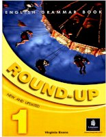 English grammar book   round up 1
