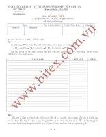 Tài liệu Đề thi học sinh giỏi hóa THPT trên máy tính cầm tay tỉnh Sóc Trăng năm 2011 pdf