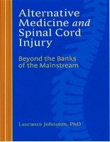 Tài liệu Alternative Medicine and Spinal Cord Injury pdf