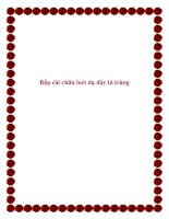 Tài liệu Bắp cải chữa loét dạ dày tá tràng pdf