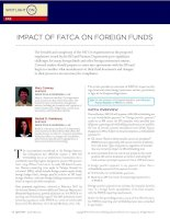Tài liệu IMPACT OF FATCA ON FOREIGN FUNDS ppt