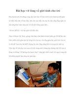 Tài liệu Bài học vỡ lòng về giới tính cho trẻ doc
