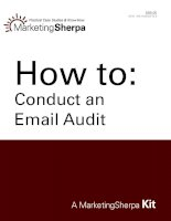 Tài liệu HOW TO: CONDUCT AN EMAIL AUDIT ppt