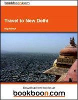 Tài liệu Travel to New Delhi pptx