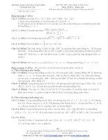 Tài liệu Tổng hợp đề thi thử ĐH môn Toán các khối Đề 56 pptx