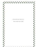 Tài liệu Đề thi hết môn tin học đại cương pdf