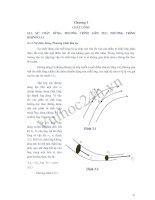Tài liệu Chương 3: Chất lỏng - Môn: Vật lý đại cương doc