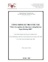 Tài liệu Đề tài: Quan hệ tác động giữa tý giá USD /VND và kim ngạch xuất khẩu dầu thô của Việt Nam giai đoạn 1990-2005 ppt