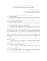 Tài liệu MỘT SỐ KINH NGHIỆM QUỐC TẾ VỀ CHÍNH SÁCH PHÁT TRIỂN NGUỒN NHÂN LỰC NÔNG THÔN ppt