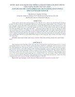 Tài liệu BƯỚC ĐẦU XÂY DỰNG HỆ THỐNG CHUYỂN ĐỔI VĂN BẢN TIẾNG VIỆT SANG NGÔN NGỮ KÝ HIỆU pptx