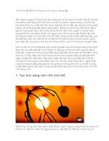 10 thủ thuật để có những bức ảnh ngược sáng đẹp