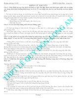 Tài liệu Ôn tập sinh học 11-NC - PHẦN LÝ THUYỀT pdf
