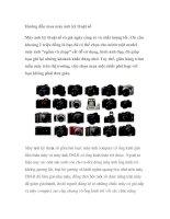 Tài liệu Hướng dẫn mua máy ảnh kỹ thuật số pdf