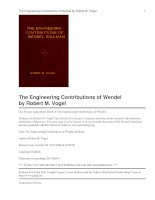 Tài liệu The Engineering Contributions of Wendel Bollman docx