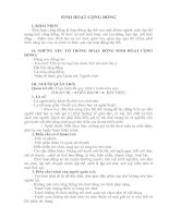 Tài liệu SINH HOẠT CỘNG ĐỒNG pdf