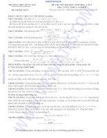 Tài liệu TRƯỜNG THPT QUỐC OAI ĐỀ CHÍNH THỨC ĐỀ THI THỬ ĐẠI HỌC NĂM 2013 - LẦN I Môn: TOÁN; Khối A và khối B pot