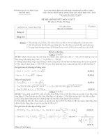 Tài liệu Đề thi học sinh giỏi lớp 12 tỉnh Thanh Hóa năm 2012 môn Vật lý potx