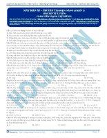luyện thi đh vật lí - máy biến áp và truyền tải điện năng p1